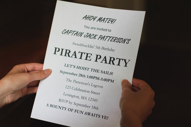 Pirate Birthday Sayings With Pictures