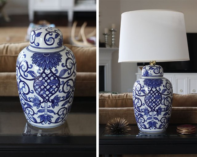 How To Turn A Ginger Jar Into A Lamp Ehow