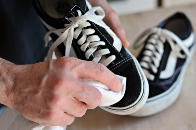 Use A Dry Towel To Rub Off Any Surface Dirt From The Exterior Of Suede Shoes And Prepare Them For Washing