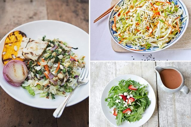 Salads — the ultimate low energy density food — should become a staple in your diet.
