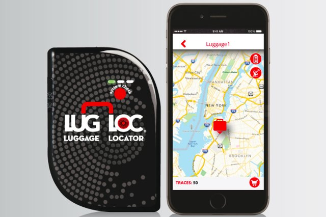 Locate your luggage anywhere in the world with LugLoc.