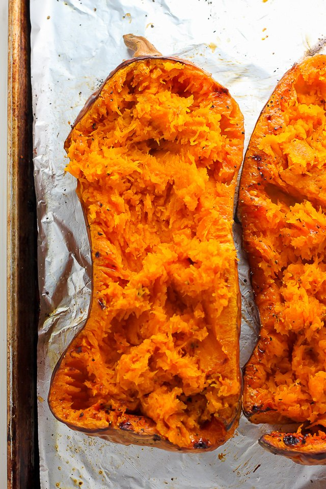 Roast the squash until it's tender.