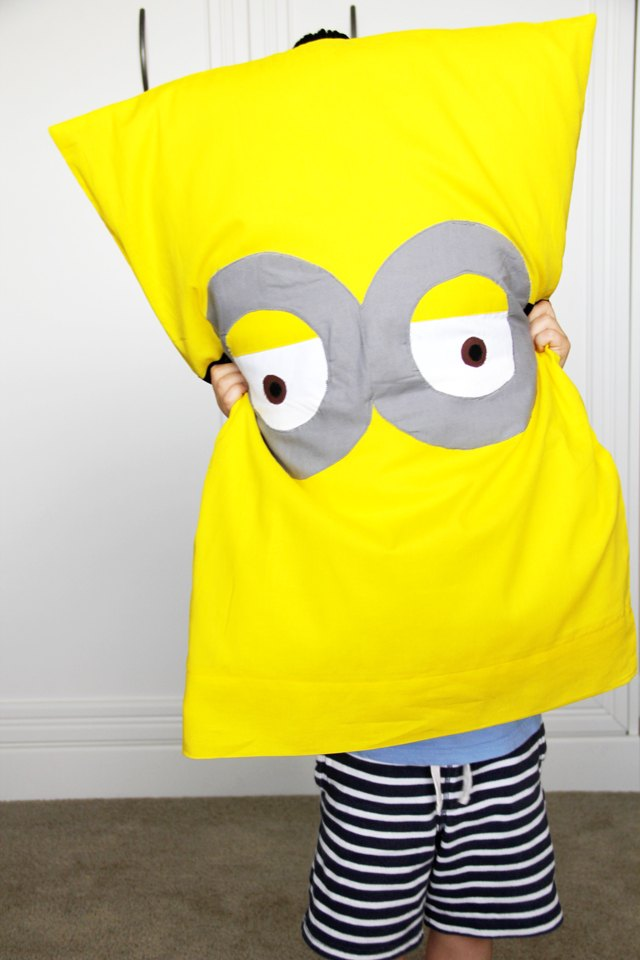 Have despicable dreams with this fun character pillow