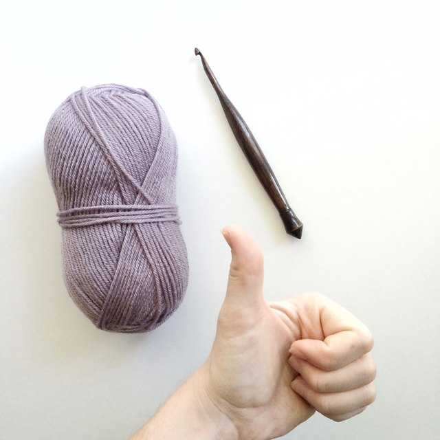 Yarn and hook