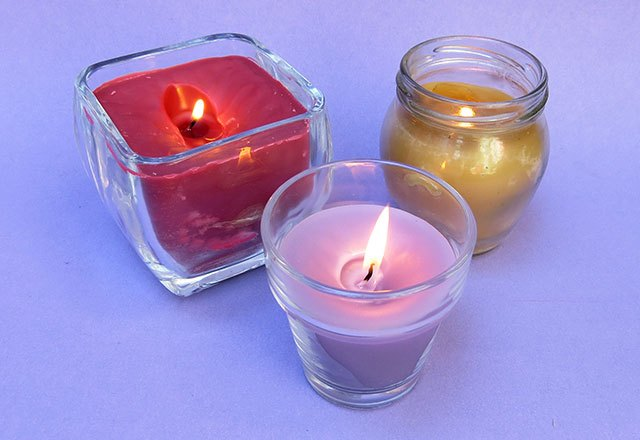 Recycle your old candles into new candles.