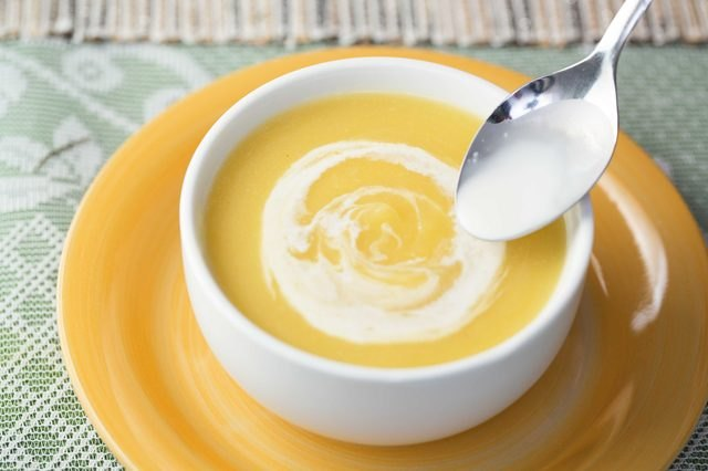 This pumpkin soup recipe can also be applied to a variety of other winter squashes.