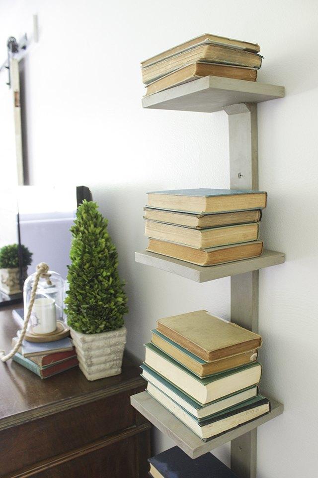 How To Make A Vertical Bookshelf Ehow