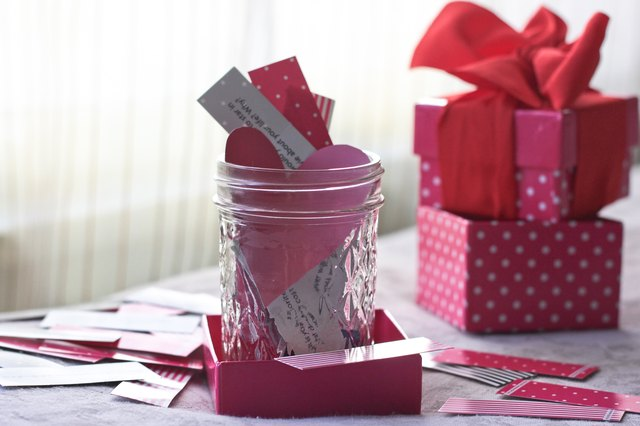 Romantic Homemade Gifts For A Boyfriend On His Birthday Ehow