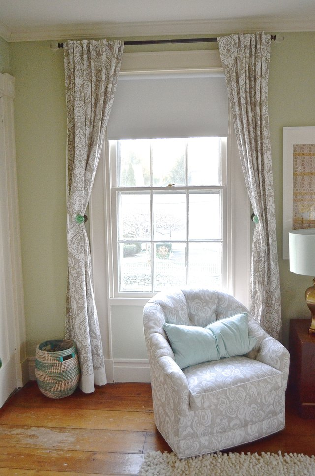 The Easiest Way To Extend Curtains That Are Too Short