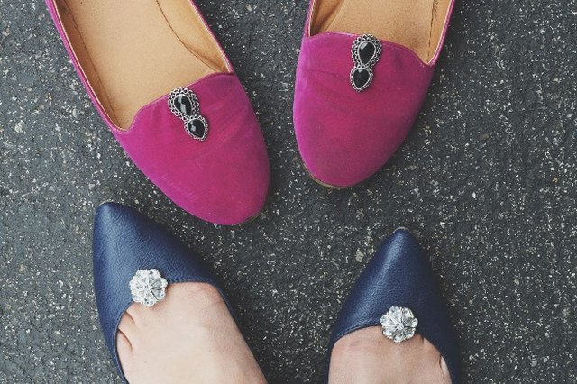Handmade shoe clips can add instant flair to your footwear.