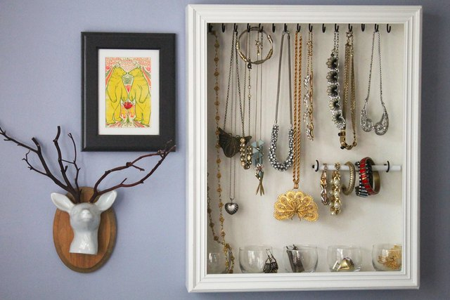 Jewelry wall decor!