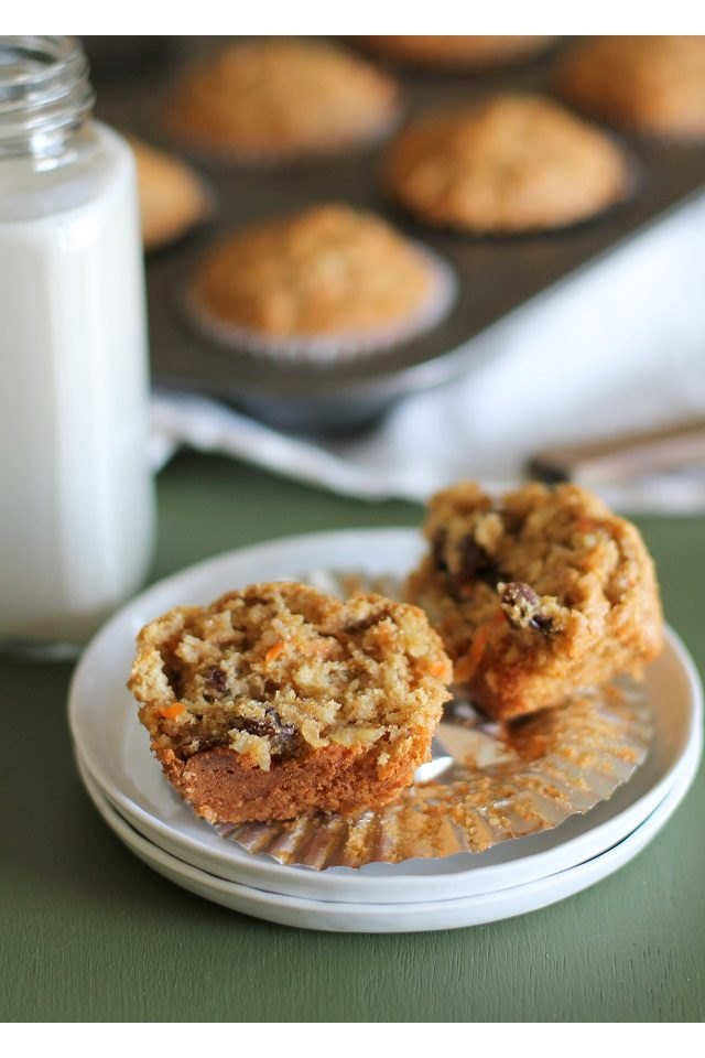 These warm, satisfying morning glory muffins are a crowd-pleaser.
