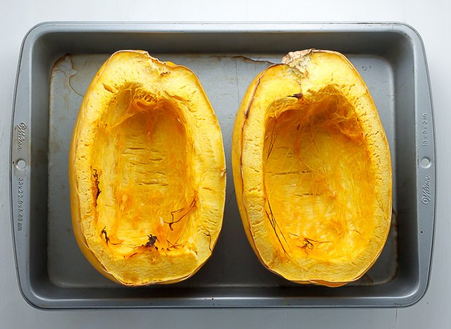 Let the squash cool before handling it.
