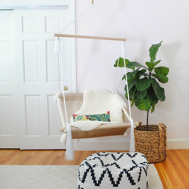 DIY hanging hammock chair