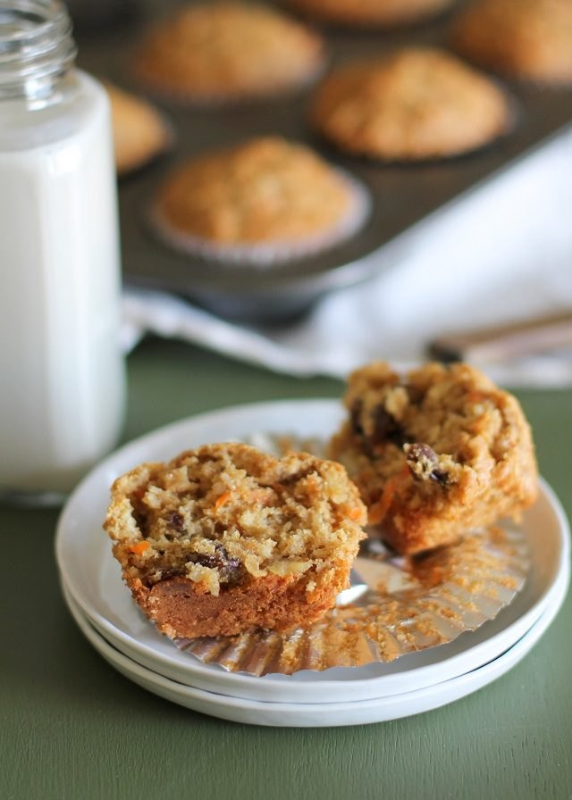 The ingredients go together harmoniously in this vitamin-packed muffin.