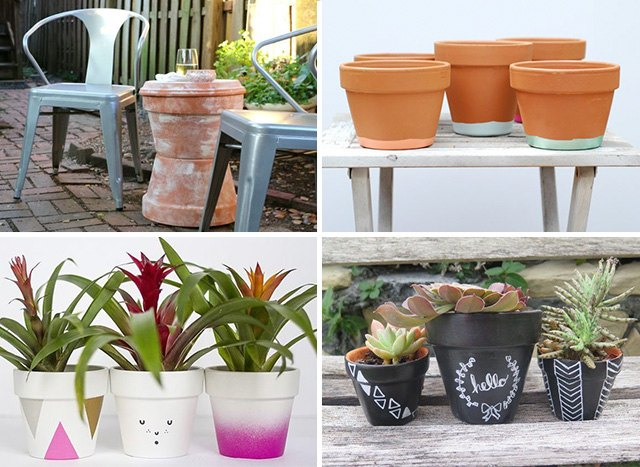 Things To Make With Terra Cotta Pots | EHow