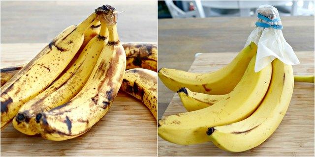 how to keep bananas lobger