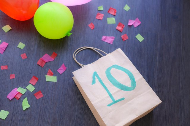 Special Ideas For Goody Bags 10 Year Olds