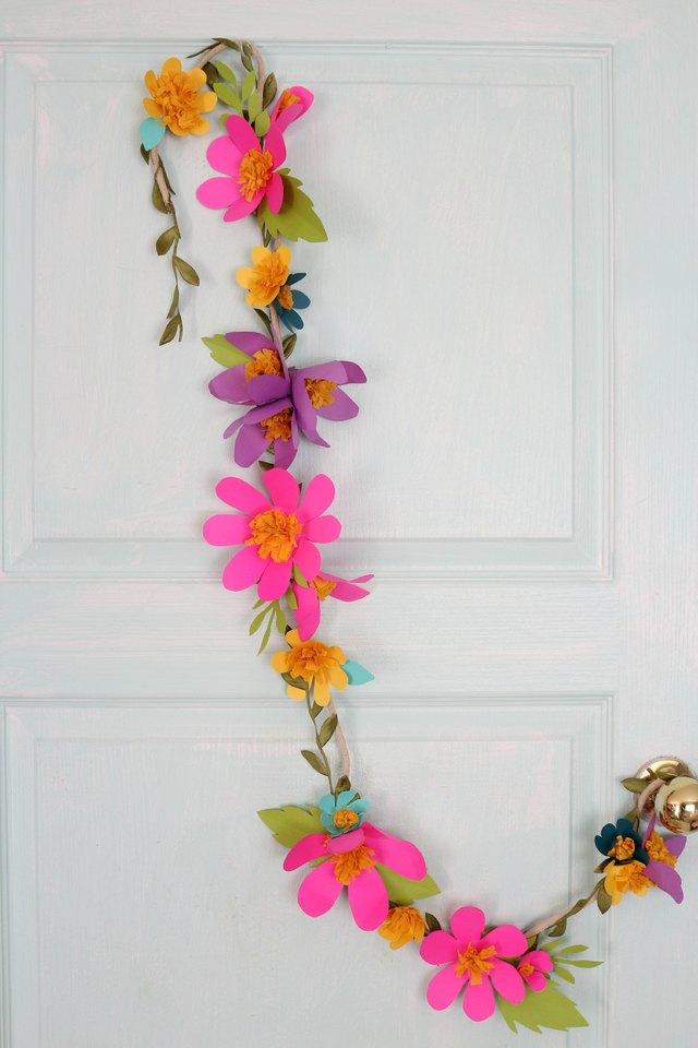 Flower Decorations Paper Diy