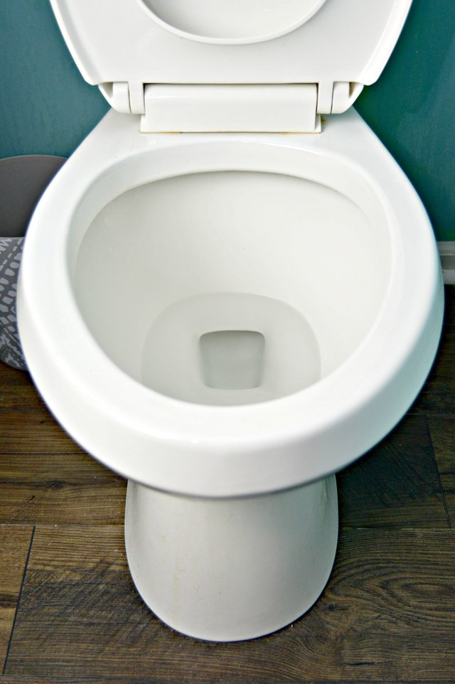 How To Remove Hard Water Stains From A Toilet Bowl Ehow