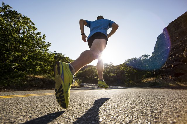 Push yourself during short sprints – you'll lose more belly fat than working at a steady pace.