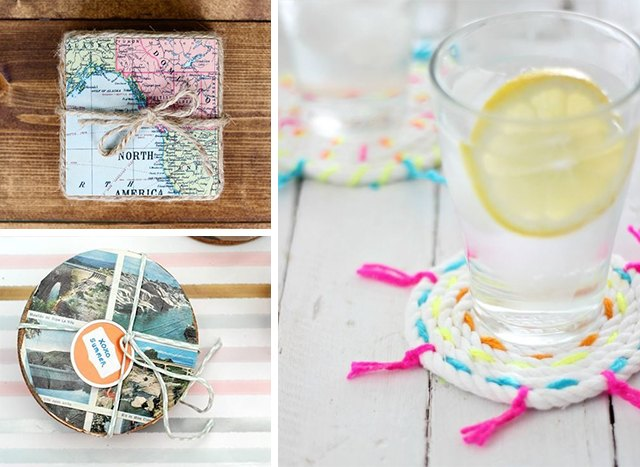 How to Make Drink Coasters