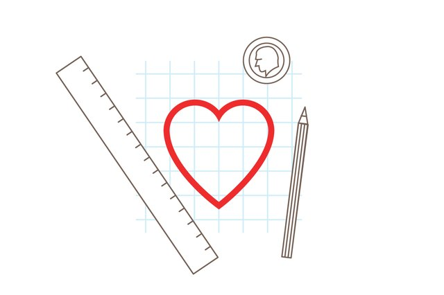 How To Draw A Heart Shape With Pictures Ehow