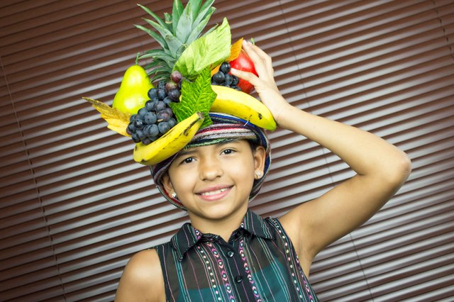 47853506b94 Make your own Carmen Miranda hat for Halloween or a costume party and get  ready to sing.