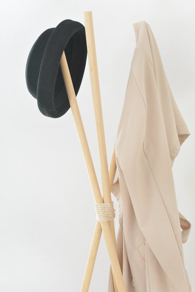 easy hat stand tutorial