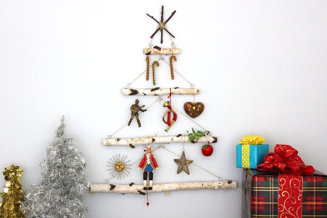 birch branch christmas tree tutorial ehow