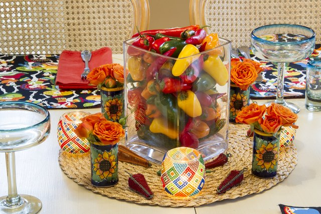 How To Make Fiesta Centerpieces For Tables With Pictures Ehow