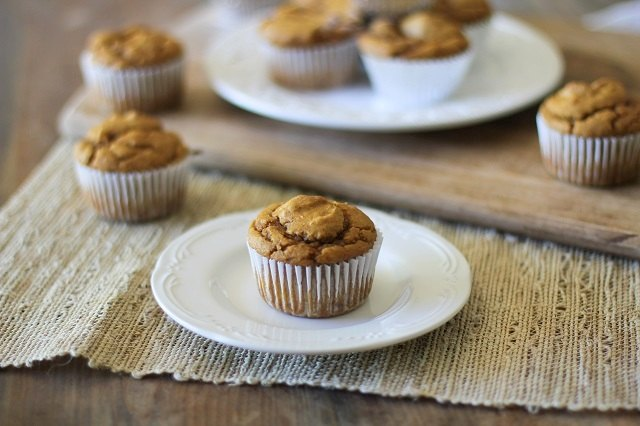 Enjoy pumpkin muffins year-round.