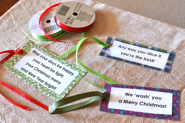 cute christmas picture ideas for friends - Gift Ideas With Cute Sayings for Christmas with