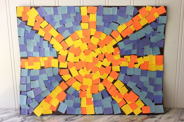 How To Make Roman Mosaics For Kids With Pictures Ehow