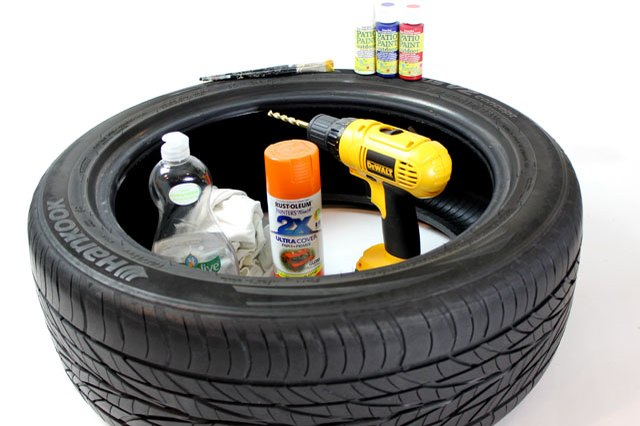 How to Paint a Rubber Tire | eHow