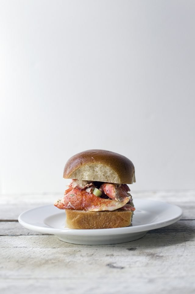 These lobster rolls can serve as a light nod to any New England teams you might be rooting for.
