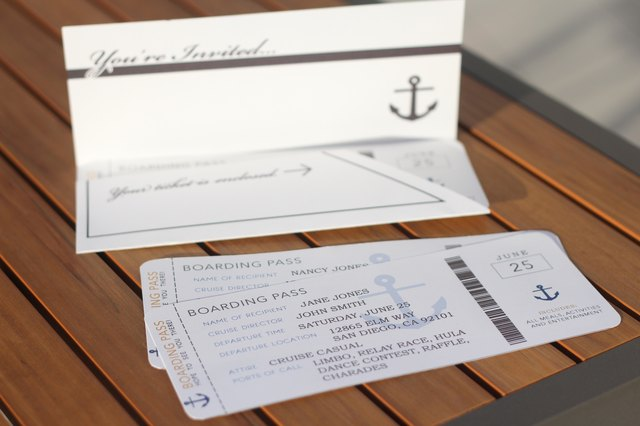 cruise theme party ideas with pictures ehow