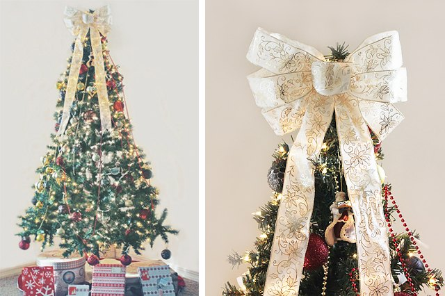 image kenzie mastroe - How To Make A Christmas Tree Topper