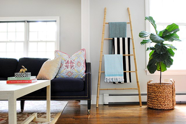 Easy DIY Bamboo Ladder