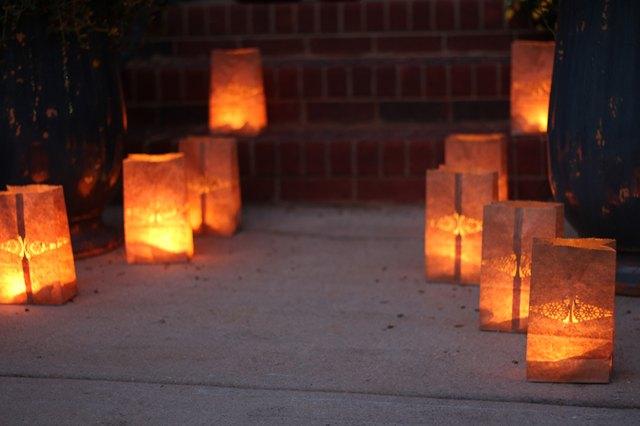 Image Safe Paper Bag Luminaries