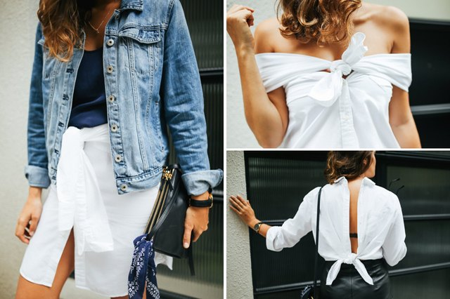 4 Ways to Wear a Button-Down Shirt | eHow