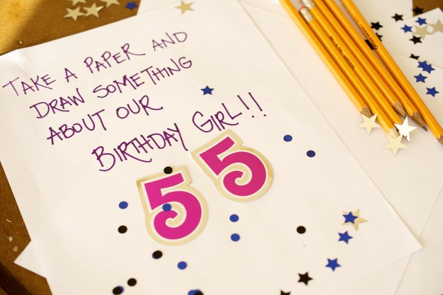 55th Birthday Party Decorations With Pictures
