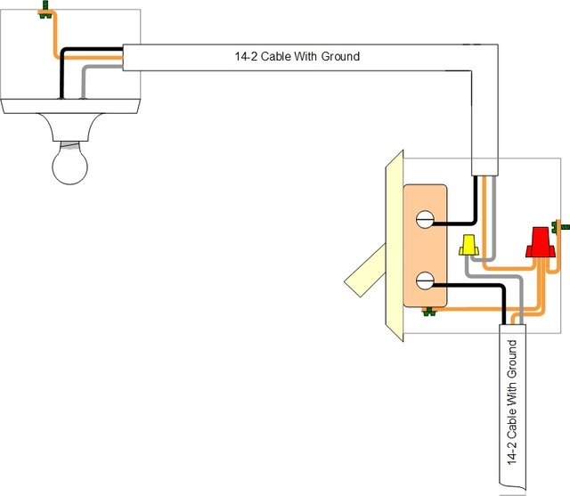 Proper Wiring Of A Single Pole Light Switch