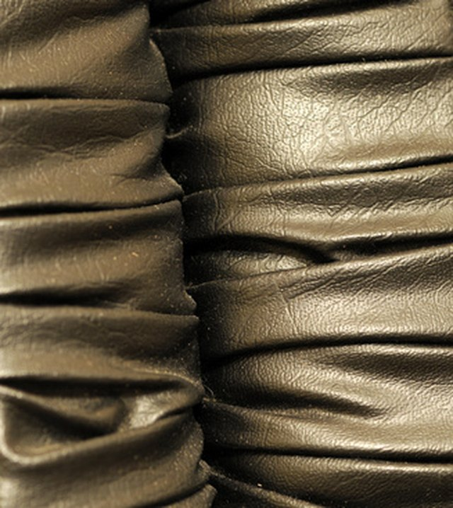 The best way to maintain the life of metallic leather is to give it frequent care.