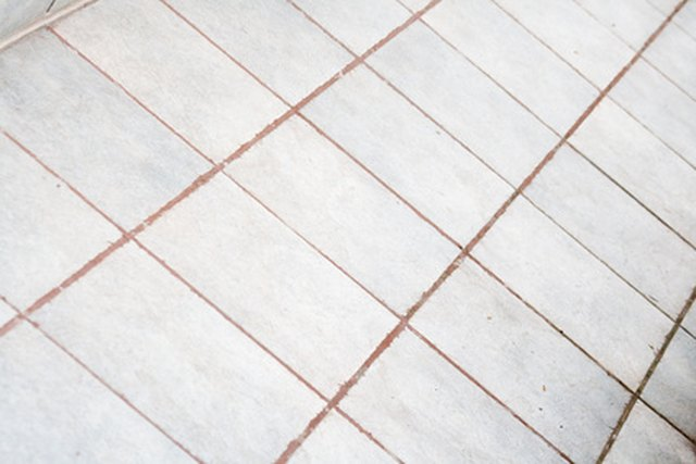 View Darker Grout Colors Against Existing Tile Before Making A Final Color Choice