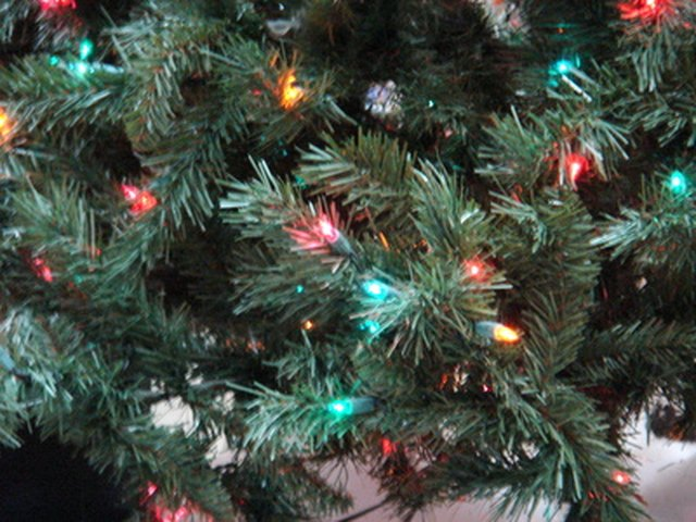 Getting Christmas tree lights to blink requires the right kind of bulb. - How To Make Christmas Tree Lights Blink EHow