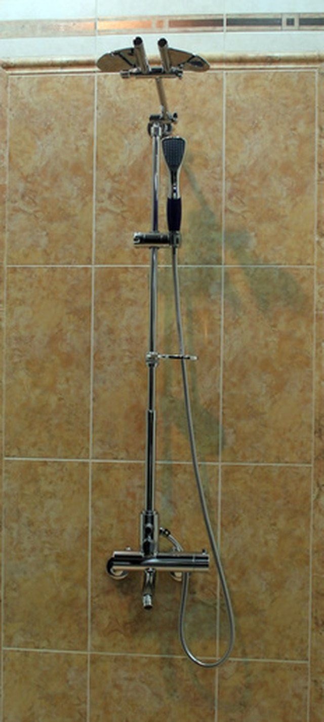 The Basic Elements Of A Shower Are Drain Handles And Spout