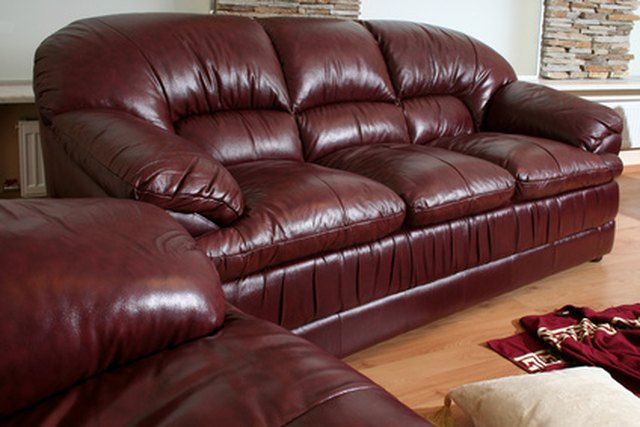 Preserve The Beauty Of Your Leather Couch By Occasionally Cleaning And Shining Surface
