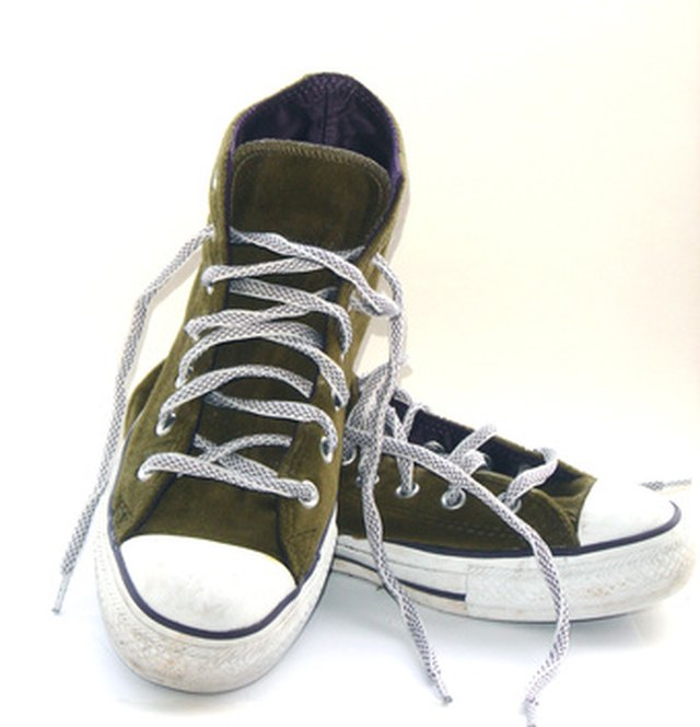 Most Chuck Taylors are made of canvas, which is fairly easy to clean