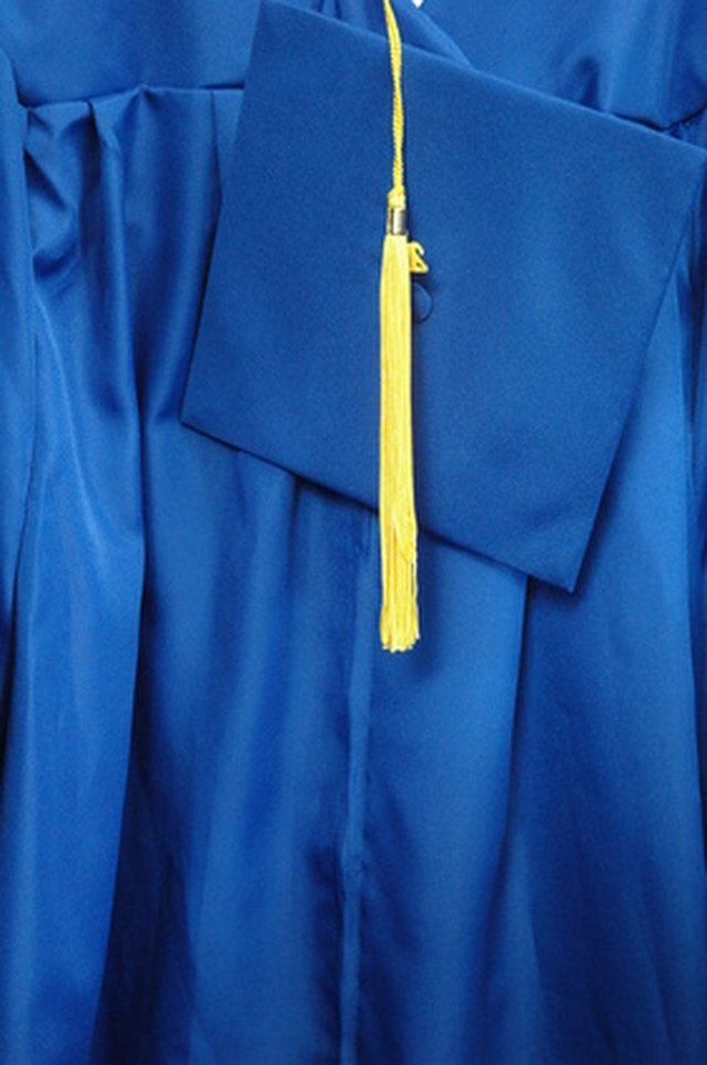 Keep your cap and gown wrinkle-free.